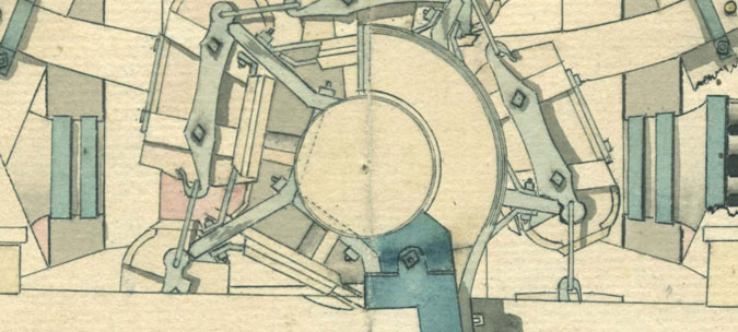 Sydkustens örlogsbas D II, Krigsarkivet Stockholm